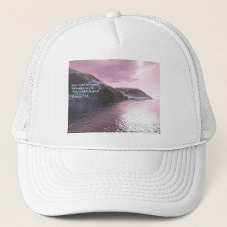 Romans 12:9  Sunrise Trucker Hat