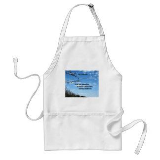 Romans 13:11 Now our salvation is nearer than Adult Apron