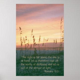 Romans 13:12 poster