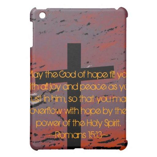 Romans 15:13 cover for the iPad mini