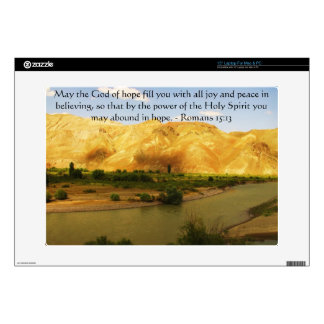 Romans 15:13  Inspirational Bible Verses Decals For Laptops