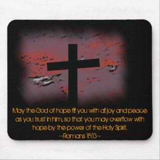 Romans 15:13 mousepads