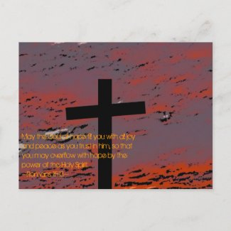 Romans 15:13 post cards