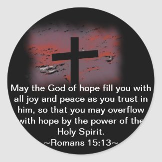 Romans 15:13 sticker