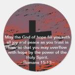 Romans 15:13 stickers