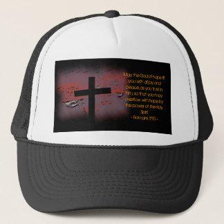Romans 15:13 trucker hat