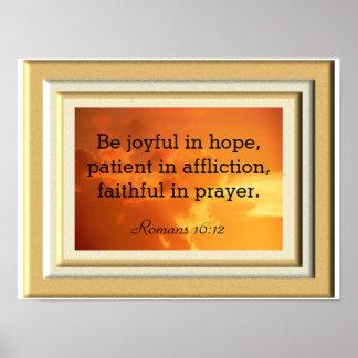 Romans 16:12 -- Art Print