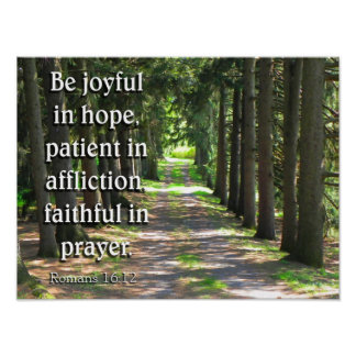 Romans 16:12 poster