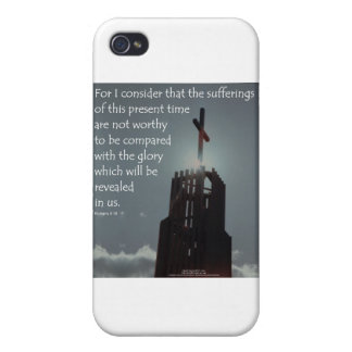 Romans 8:18 Glory to be Revealed iPhone 4/4S Case