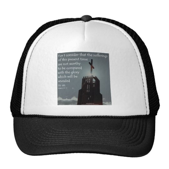 Romans 8:18 Glory to be Revealed Trucker Hat