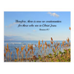 Romans 8:1 Therefore, there is now no condemnation Post Card