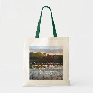 """""""Romans 8:28"""" Bag"""