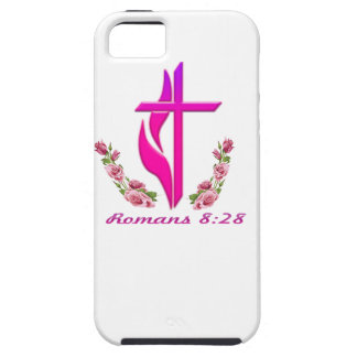 Romans 8:28 Christian gifts iPhone SE/5/5s Case