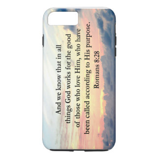 ROMANS 8:28 FAITH iPhone 7 PLUS CASE