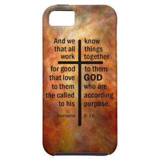 Romans 8:28 iPhone SE/5/5s case