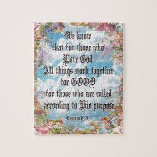 Romans 8:28 jigsaw puzzle