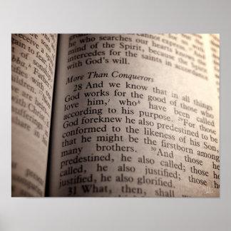 Romans 8:28 [Print] Poster