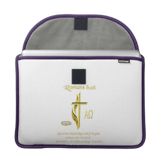 Romans 8:28 products MacBook pro sleeve