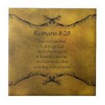 Romans 8:28 tile