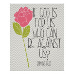 Romans 8:31 posters