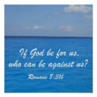 Romans 8:31b poster