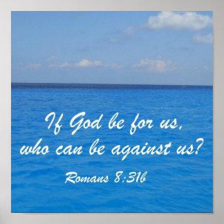 Romans 8:31b print