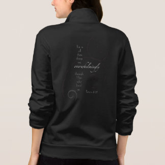 Romans 8:37 - Choose your own color! Customizable Jacket