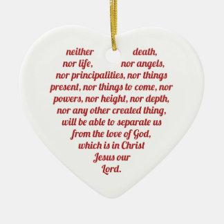Romans 8:38,39 Ornament