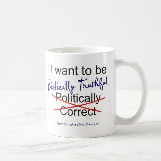 Romans 9 Truth Classic White Coffee Mug