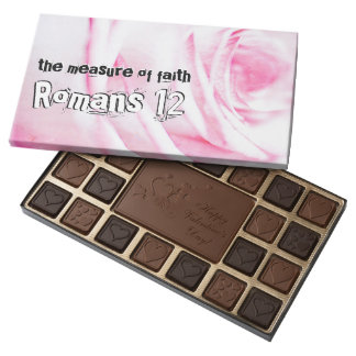 Romans chapter 12 assorted chocolates