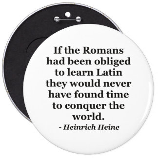 Romans learn Latin Quote Button