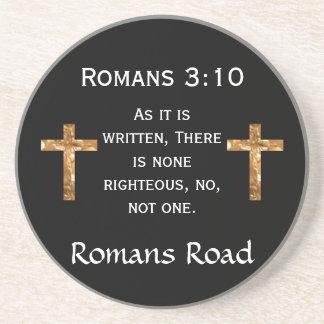 Romans Road, Romans 3:10 Coaster