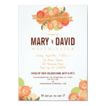 Romantic Abstract Rose 50th Anniversary Party Card