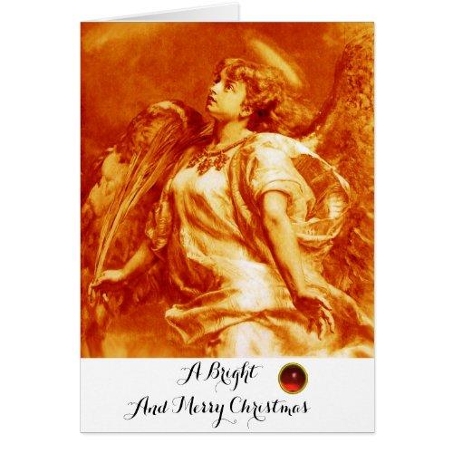 ROMANTIC ANGEL FEATHER ORANGE YELLOW Christmas