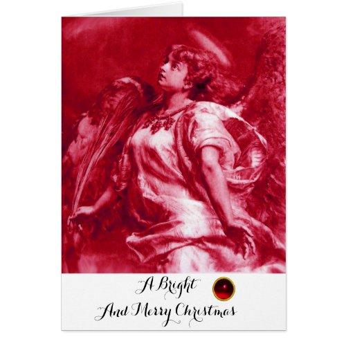 ROMANTIC ANGELFEATHER PINK FUCHSIA Christmas