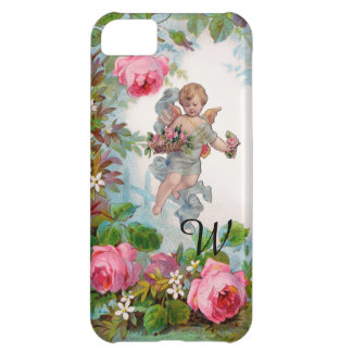 ROMANTIC ANGEL GATHERING PINK ROSES AND FLOWERS iPhone 5C COVER
