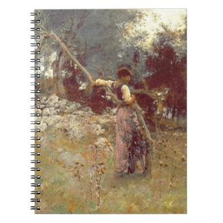Romantic Anticipation 1878 Spiral Notebook