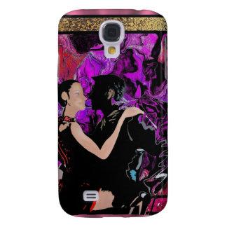 Romantic Art Deco style dancers Galaxy S4 Cover
