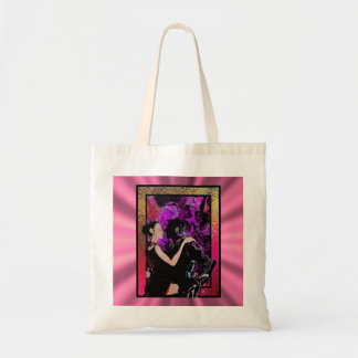 Romantic Art Deco style dancers Tote Bag