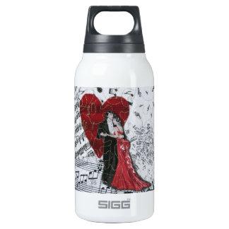 Romantic Ballroom Dancers Insulated Water Bottle