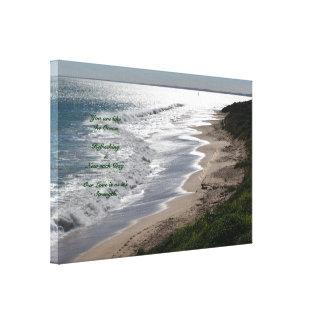 Romantic Beach Canvas