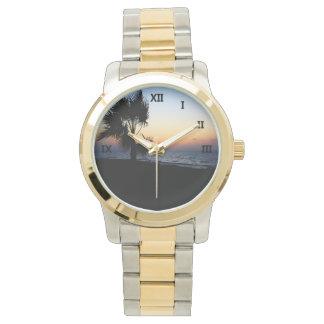 Romantic  Beach Scene 1 Wristwatch