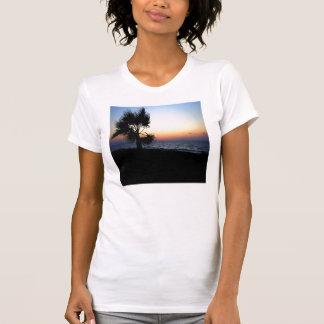 Romantic beach scene tees