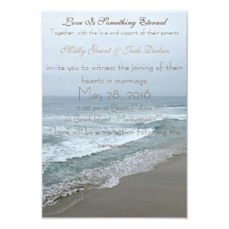 Romantic Beach Wedding Invitations