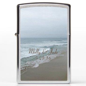 Beach Themed Romantic Beach Zippo Lighter