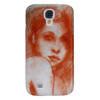 ROMANTIC BEAUTY / Woman Portrait in Sepia Brown Samsung Galaxy S4 Cover