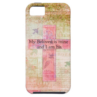 Romantic Bible verse Song of Solomon 2:16 iPhone SE/5/5s Case
