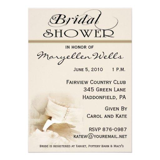 Amp groom bridal shower invitation 5 quot x 7 quot invitation card zazzle
