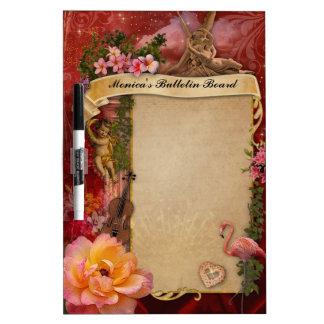 Romantic Bulletin Board (customizable) Dry-Erase Board