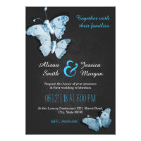 Romantic Butterflies wedding invitation (<em>$2.00</em>)
